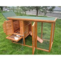 BUNNY BUSINESS Mini Shack New Chicken Hen House Coop Poultry Ark Run Rabbit Hutch Rabbit Hutches