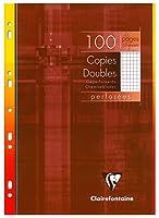 Copies doubles perf. s/étui 21x29,7 100p Q.5x5 + marge