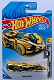 Hot Wheels 2019 Super Chromes 9/10 - Power Rocket (Gold)