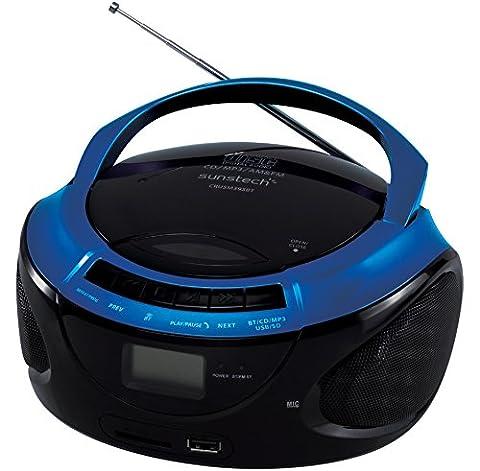 Sunstech CRUSM-395BT Radiorekorder ( CD-Player,MP3 Wiedergabe )