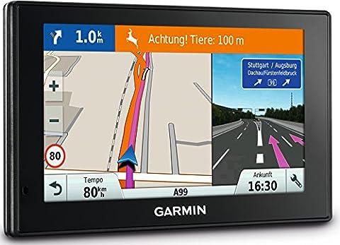 Garmin DriveSmart 70 LMT-D EU Navigationsgerät 17,6 cm (7 Zoll) Touch-Glasdisplay, lebenslange Kartenupdates, Verkehrsfunklizenz, (Navi Sprachsteuerung)