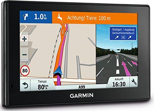 garmin drive smart 70 Garmin DriveSmart 70 LMT-D EU Navigationsgerät 17,6 cm (7 Zoll) Touch-Glasdisplay, lebenslange Kartenupdates, Verkehrsfunklizenz, Sprachsteuerung)