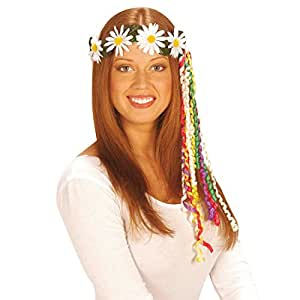Corona capelli con margherite figli dei fiori fascia capelli hippie con fiorellini