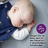 Philips Avent Audio-Babyphone SCD733/26, DECT-Technologie, Eco-Mode, Sternenhimmel, 18 Std. Laufzeit - 9