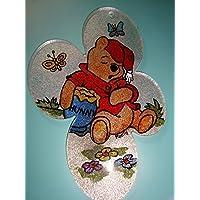 Plexiglass da appendere con Winnie the Pooh