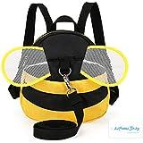 Mochila Infantil para bebé Cinturones Niños Mochila Niños Mochila con Riendas belt-bee
