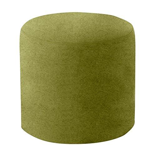 Softline Drum Hocker/Beistelltisch M, hellgrün Stoff Felt 855 H 40cm Ø 45cm