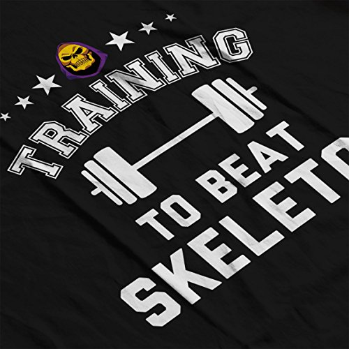 Training To Beat Skeletor He Man Masters Of The Universe Men's Vest Black