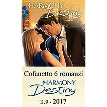 Cofanetto 6 romanzi Harmony Destiny - 9: Il peso del passato | Una delicata missione | Una notte di follie | Una nobile causa | Una moglie quasi perfetta | Il coraggio di amare (Italian Edition)