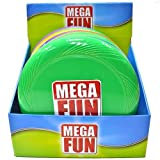 Mega Fun - 3 Pack - Flying Disc 25 Cm - 0750 - Los colores pueden variar