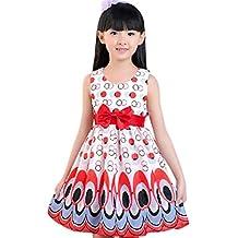 ❤️ Amlaiworld Vestido de niña Vestido de pavo real sin mangas con forma de burbuja para niñas vestido de princesa Ropa de fiesta Falda Chicas 3 Años - 7 Años