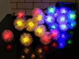 #7: RICH e Snow Balls 10M Decorative Multi-color Light for Diwali, Christmas, Wedding, Party Event (Made in India)