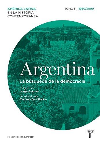 Argentina (1960/2000) La búsqueda de la democracia (Mapfre) por Varios autores