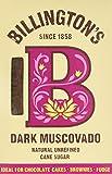Billington's Dark Muscovado Natural Unrefined Cane Sugar - 500g(Pack of 5)