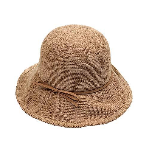 Leisial Baumwolle Unisex Großer Sonnenschirm Top Caps Männer und Frauen Größe - Fashion Top Hats Caps Kopfbedeckungen für Kostümzubehör 55-57cm Stil 1