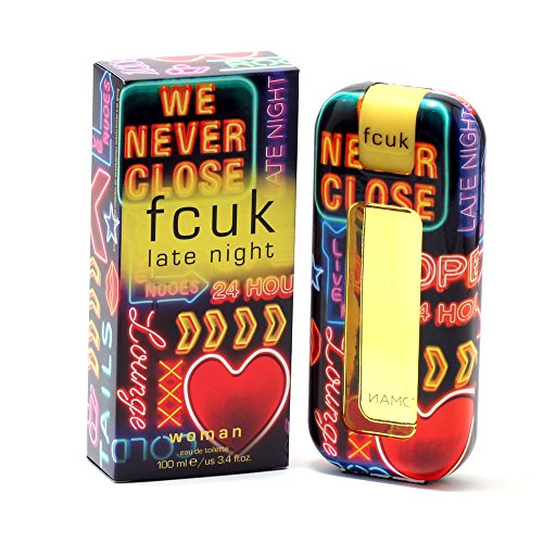 FCUK French Connection UK Woman Late Night EdT Spray für Sie 100ml
