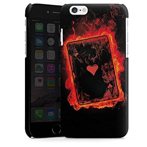 Apple iPhone 5 Housse Étui Silicone Coque Protection Ass C½ur Cartes Cas Premium brillant