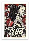 Affiche - Art - 50 x 70 cm - fight club - film fan-art - joshua budich