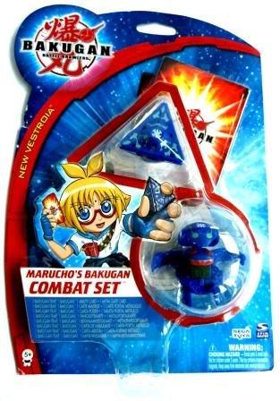 Upper Deck Bakugan : Baku Marucho's Combat Set 1 x Bakugan, 1 x Bakugan Trap, 1 x Metall-Portalkarte, 1 x Fähigkeitskarte