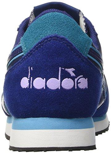 Collo Diadora Basso Sneaker Donna Stampa Blu Krun W A f4x4rwvIq