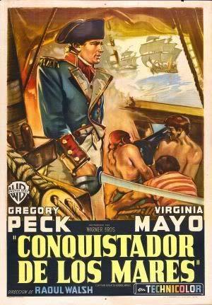 Captain Horatio Hornblower - Argentinian - Film Poster Plakat Drucken Bild - 43.2 x 60.7cm Größe Grösse Filmplakat Christopher LEE