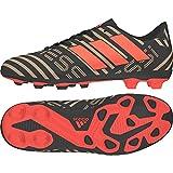 adidas Unisex-Kinder Nemeziz Messi 17.4 FxG Fußballschuhe, Schwarz (Core Black/Solar Red/Tactile Gold Metallic), 37 1/3 EU