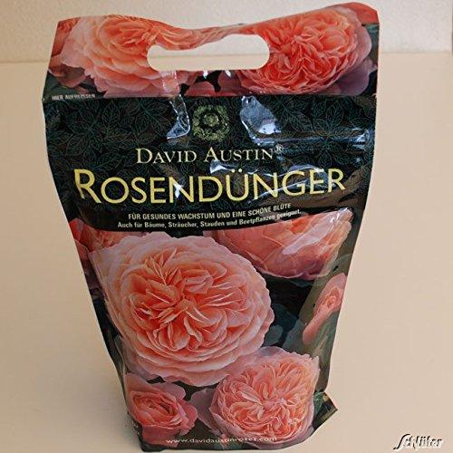 """Rosen-Dünger David Austin """"Rose Food"""" - 1,75 kg Organisch-mineralisch mit Langzeit-Wirkung für gesunde, kräftige Rosen - von Garten Schlüter"""