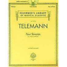 G.P. Telemann (Book & CD)