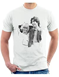 POD66 John Travolta Olivia Newton John Grease Release UK 1978 Mens T-Shirt