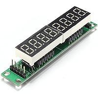 Kcopo 8-Stelle LED Anzeige Modul MAX7219 Digital Control Rohr Rot Matrix Digitalröhre Display Control Module Board fuer Arduino