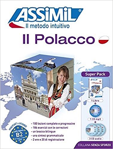 il-polacco-con-3-cd-audio-con-cd-audio-formato-mp3
