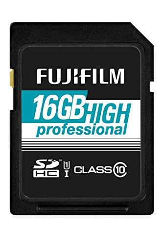 Fujifilm - Scheda di memoria SDHC UHS-I, classe 10 16