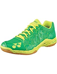 YONEX Power Cushion aerus 2 Zapatillas de bádminton, color verde, color verde, Shoe Size- 11 UK