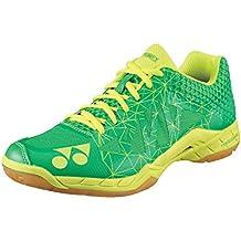 YONEX Power Cushion Aerus 2para hombre bádminton zapatos, Color- Verde, Color- Verde, Shoe Size- 10,5UK