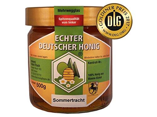 Echter Deutscher Stadthonig Wanne-Eickel Frische Ernte Früh- & Sommertracht (500g)