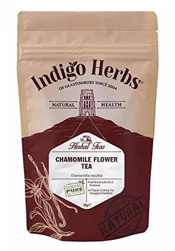 Chamomile Flowers (Dried) Loose Herbal Tea - 50g