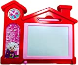 Blossom Educational Writing/Drawing Board with Magic Slate, Maze Game, Different Shapes & 1 Pen for Kids(Color May Vary)