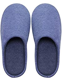 WDS I Bambini Sono Pantofole A Pavimento di Legno Pantofole Casa Invernale  Cotone Pantofole 5 Colori b47a5399f94