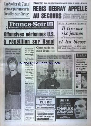 FRANCE SOIR 8 EME COURSES BOURSE du 19/12/1967