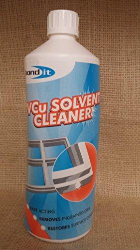 4x Bond it 1L PVCu Solvent Cleaner doppi vetri serre finestre porte