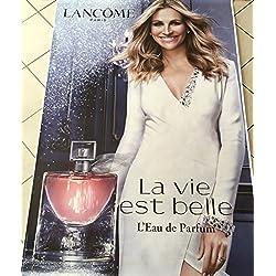 AFFICHE - Lancôme  Julia ROBERTS - Eau / La vie Est Belle - 120x175 cm - AFFICHE / POSTER