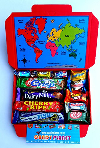 world-international-chocolate-bar-selection-box-hamper-gift-american-candy-australian-lolly-new-zeal