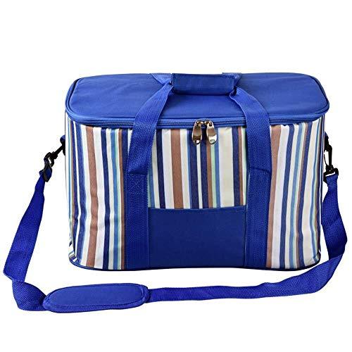 Ljlpropyh Camping Picknick Tasche EIN-Schulter-Picknicktasche for den Außenbereich - Leichte isolierte Picknicktasche Tragbare wasserdichte Gefriertruhe Geeignet for Arbeit/Schule/Outdoor-Aktivitäten
