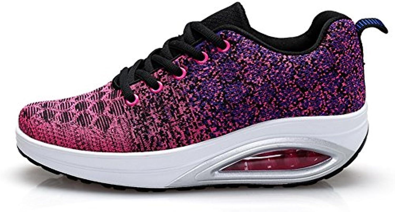 Las Mujeres sacuden los Zapatos, los Zapatos Que se sacuden Ocasionales Respirables, los nuevos Zapatos de Punto...