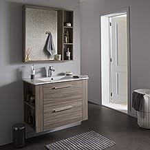 Amazonfr Ensemble Meuble Vasque Miroir Salle Bain