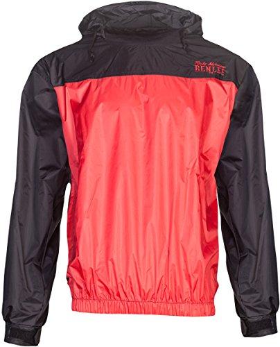 BENLEE Rocky Marciano Benlee Herren Trainingsanzug Sauna Suit Heavy Duty, Größe:M, Farbe:Black/Red