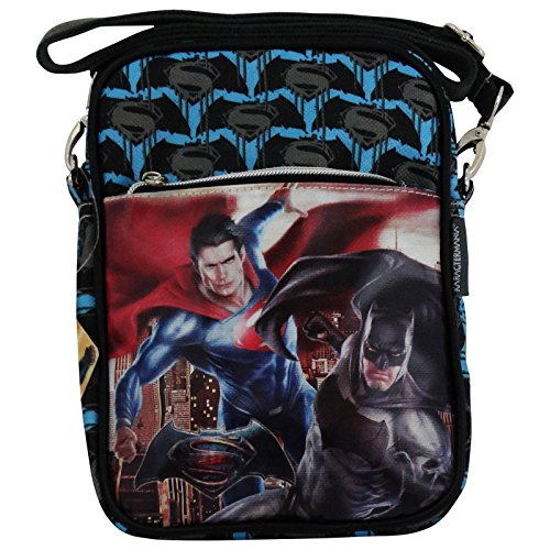 Dc Comics Batman Vs Superman Dawn Hülle Trageaschen fur iPad Kindle Tablet Freizeit Taschen Schultertaschen Tablet