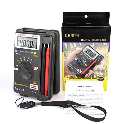 Heaviesk ZOTEK VC921 Pocket Tragbares Digitales Autoranging Multimeter 4000 Zählt AC DC Voltmeter Ohm Kapazität Meter Mini Multimeter