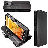 caseroxx Hülle/Tasche Bookstyle-Case Ulefone Power 5 / Power 5s Handy-Tasche, Wallet-Case Klapptasche in schwarz