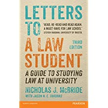 Letters to a Law Student 3rd edn: A guide to studying law at university